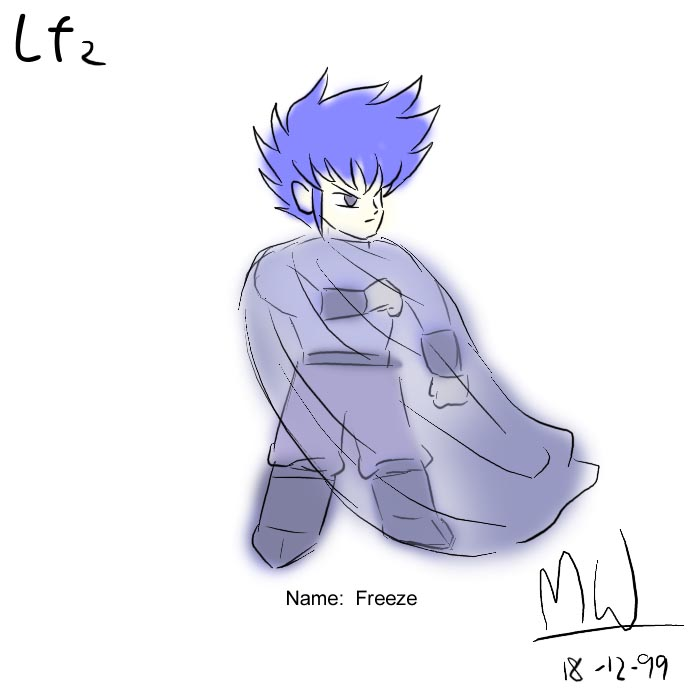 LF2角色設計草圖(Freeze)