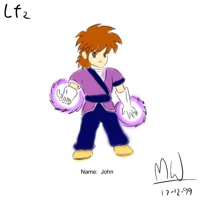 LF2角色設計草圖(John)