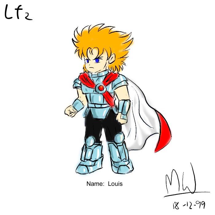 LF2角色設計草圖(Louis)
