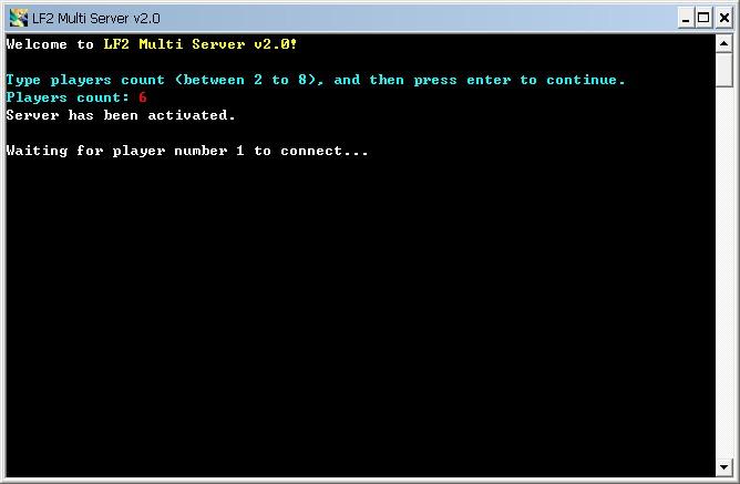LF2 Multi Server